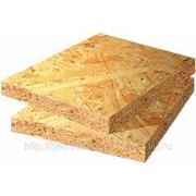 OSB (Orient Strand Board, ориентированно стружечная плита, ОСП) фото