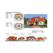 Архитектурные решения. Двухсекционный жилой дом фото