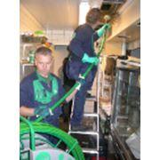 Обработка вентиляционных воздуховодов фото