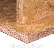 Влагостойкая плита OSB-3 EGGER 1250*2500*9 мм фото