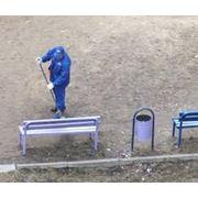 Ручная уборка территорий фото