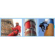 Восстановление и демонтаж дымовых труб фото