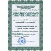 Методическое сопровождение при сертификации фото