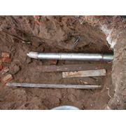 Демонтаж трубопровода. фото
