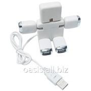 USB Hub 4 порта Робот фото