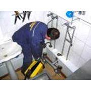 Прочистка канализации фото