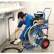 Прочистка систем канализации фото