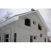 Строительство домов из пеноблока фото