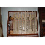 Балясины и столбы деревянные фото