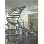 Винтовая лестница на тетивах фото