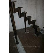 Каркас модульной лестницы, 10 ступеней фото