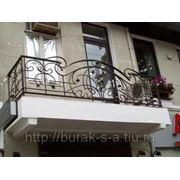 Кованные балконы и террассы на заказ фото