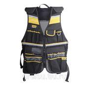"""Ящики, сумки и пояса для инструмента Stanley Жилет для ношения инструмента """"FatMax® Tool Vest"""" FMST1-71181 фото"""