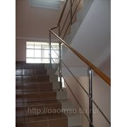 Ограждения лестниц фото
