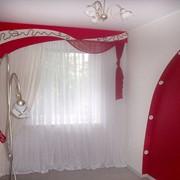 Пошив штор, ламбрекенов, изготовление римских штор, японских панелей фото