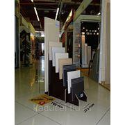 Лестничная ступень из керамогранита фото