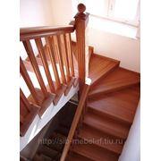 Изготовление деревянных лестниц № 19