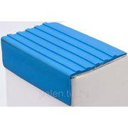 Резиновые накладки на ступени 55мм (синий) фото