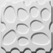 """Декоративные стеновые панели из бамбука 3D """"Pebbles"""" фото"""