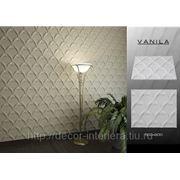 """Стеновые панели гипсовые 3D """"Vanilla"""" фото"""
