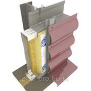 Стеновые сэндвич-панели с дополнительным утеплением 150+100м фото