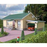 Дом «Лада» с гаражом фото
