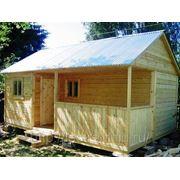 Дачный домик 5х5. фото