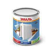 """Эмаль """"Globe"""" для радиаторов белая полуматовая 10 кг фото"""