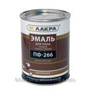 Эмаль ПФ-266 Лакра цв. красно-коричневый, 3 кг фото