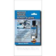 Эмаль HOBBY~для ремонта ванны керамики,сантехники  фото