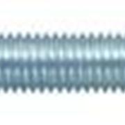 Болт с шестигранной головкой, оцинковынный, класс прочности 8.8, DIN 933 фото