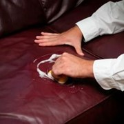 Комплексная чистка кожаной мебели:диваны фото