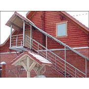 Лестница для частного дома фото