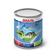 """Эмаль """"Globe"""" универсальная коричневая полуглянцевая 10 кг фото"""