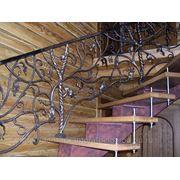 Лестничные ограждения 6 фото