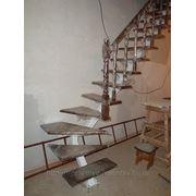 Лестница металлическая сосна под ключ фото