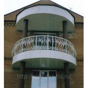 Балконные ограждения кованые фото