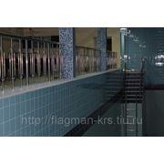 Ограждения для бассейнов из нержавеющей стали фото