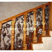 Лестничные ограждения 5 фото