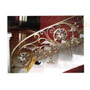 Перила для лестниц кованые фото