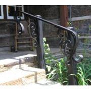 Перила кованые для лестниц фото