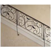 Перила для лестниц и балконов. Изготовление и монтаж. фото