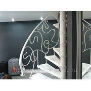 Винтовая кованая лестница фото
