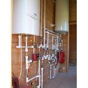 Системы отопления водоснабжения и канализации фото