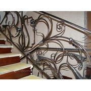 Лестничные ограждения 9 фото