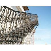 Лестница кованая фото