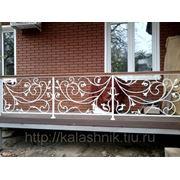 Ограждения террас, балконов, открытых площадок. фото