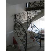 Перила, балконные ограждения, лестницы фото