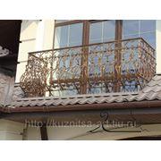 Кованое балкон ручной работы фото