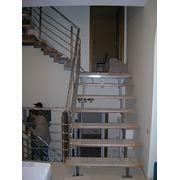Лестница металлическая береза под ключ фото